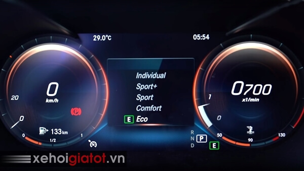 Chế độ lái xe Mercedes C-Class
