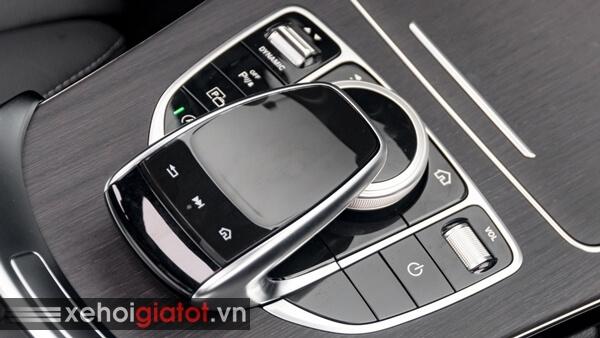 Cụm phím touchpad xe Mercedes C-Class