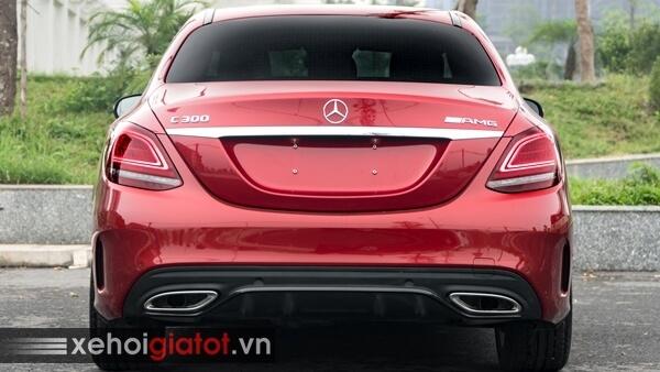 Đuôi xe Mercedes C-Class