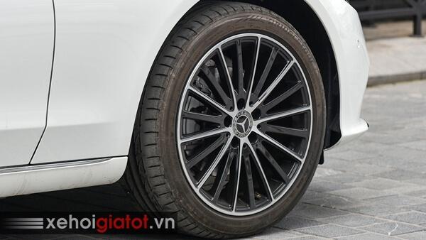 Vành la-zăng xe Mercedes C200 Exclusive