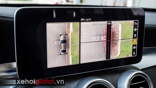Camera 360 độ xe Mercedes C300 AMG