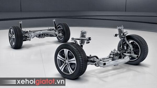Hệ thống treo xe Mercedes C-Class
