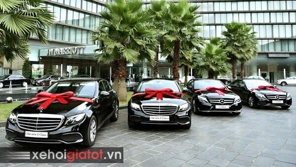 Mua xe Mercedes khuyến mại
