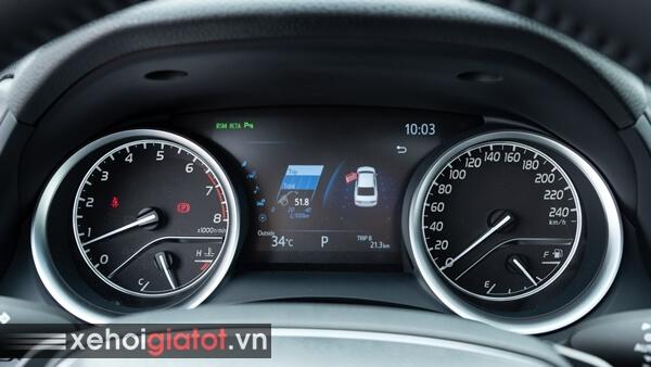 Đồng hồ trung tâm xe Toyota Camry