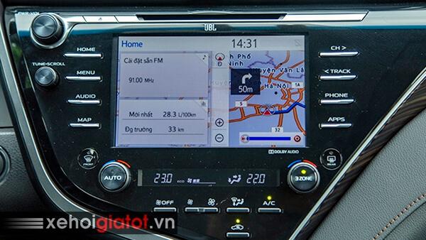 Bản đồ xe Toyota Camry