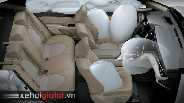 Túi khí an toàn xe Toyota Camry