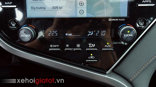 Hệ thống điều hòa xe Toyota Camry