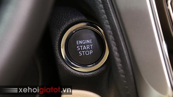 Nút bấm khởi động xe Toyota Vios