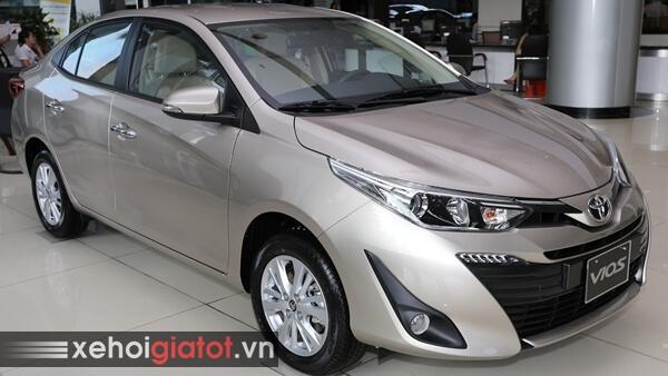 Ngoại hình xe Toyota Vios