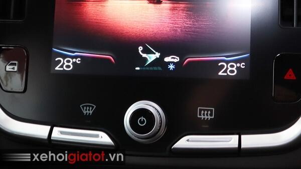 Hệ thống điều hòa xe Vinfast Lux A2.0