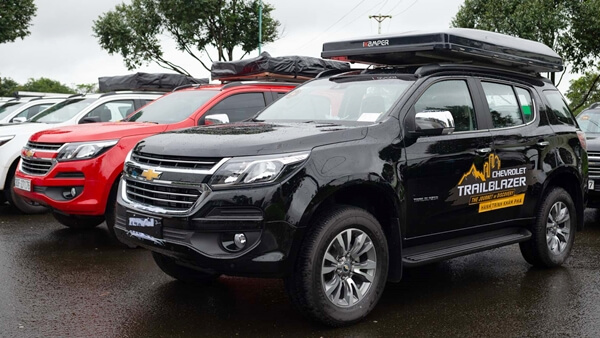Chevrolet Trailblazer và Colorado