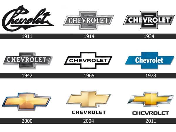 Điểm danh những dòng xe của Chevrolet
