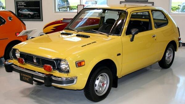 Honda Civic thế hệ đầu tiên