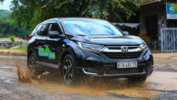 Honda CR-V tiết kiệm nhiên liệu