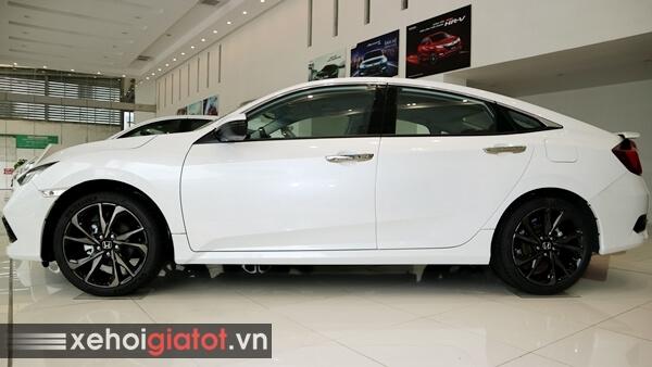 Phần thân xe Civic 1.5 RS