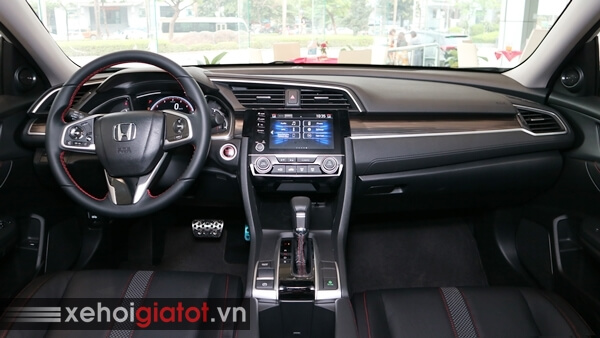 Nội thất xe Civic 1.5 RS