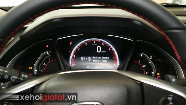 Cụm đồng hồ trung tâm xe Civic 1.5 RS