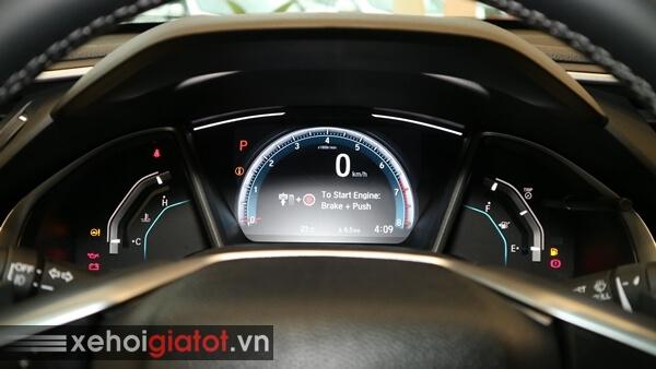 Cụm đồng hồ trung tâm xe Civic 1.8 G