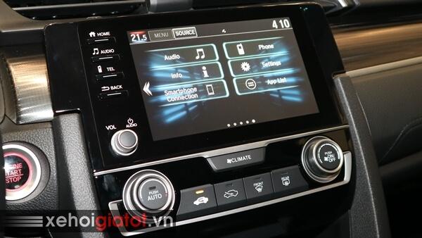 Bảng điều khiển trung tâm xe Civic 1.8 G
