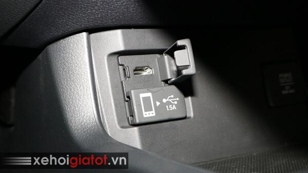 Cổng HDMI của xe Civic 1.8 G