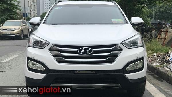 Đầu xe Hyundai Santafe 2.4 AT 2014 cũ