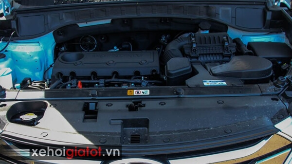 Động cơ xe Hyundai Santafe 2.4 AT 2014 cũ