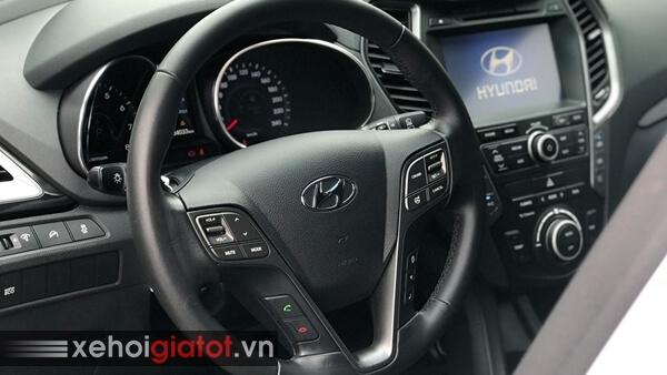 Vô lăng xe Hyundai Santafe 2.4 AT 2014 cũ