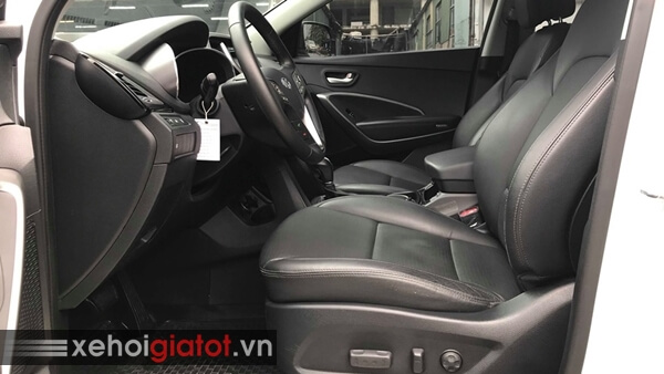Ghế trước xe Hyundai Santafe 2.4 AT 2014 cũ