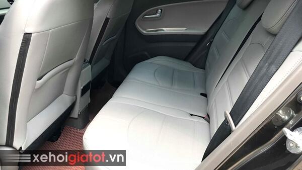 Hàng ghế sau xe Kia Morning Si 1.25 AT 2017 cũ