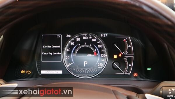 Cụm đồng hồ trung tâm xe Lexus ES 250