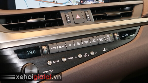 Hệ thống điều hòa xe Lexus ES 250