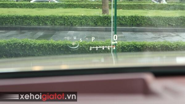Hiển thị kính lái HUD xe Lexus ES 250