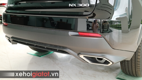 Cản sau xe Lexus NX 300