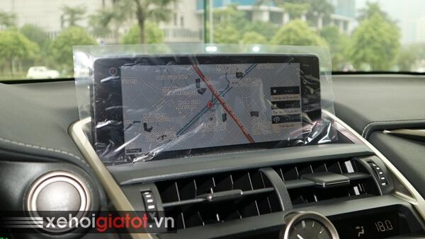 Bản đồ dẫn đường xe Lexus NX 300