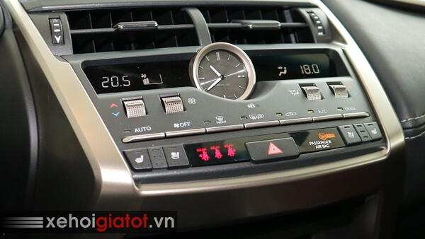Hệ thống điều hòa xe Lexus NX