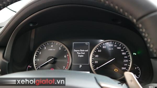 Đồng hồ trung tâm xe Lexus NX