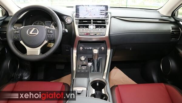 Nội thất xe Lexus NX