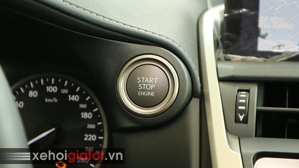 Khởi động strart/stop xe Lexus NX 300