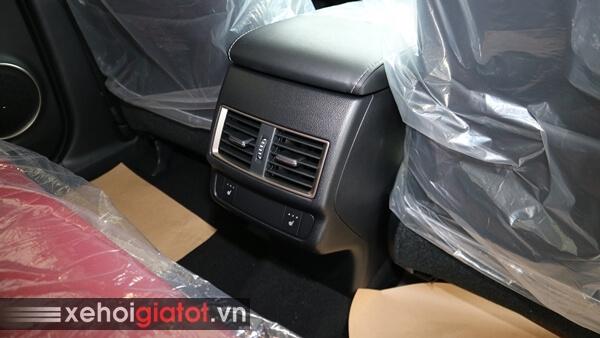 Điều hòa hàng ghế sau xe Lexus NX 300