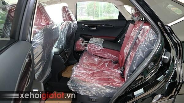 Gập ghế sau xe Lexus NX 300