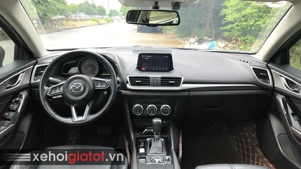 Nội thất xe Mazda 3 Sedan 1.5 AT 2017 cũ