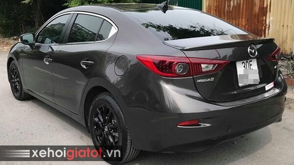 Phần đuôi xe Mazda 3 Sedan 1.5 AT 2017 cũ