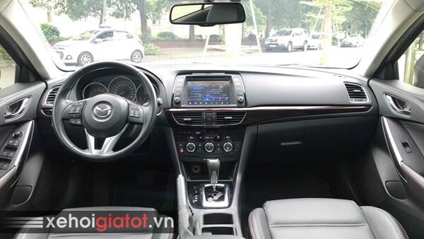 Nội thất xe Mazda 6 2.0 AT 2016 cũ