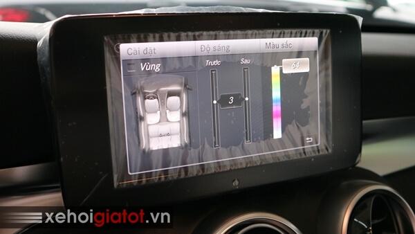 Đèn viền nội thất xe Mercedes C200