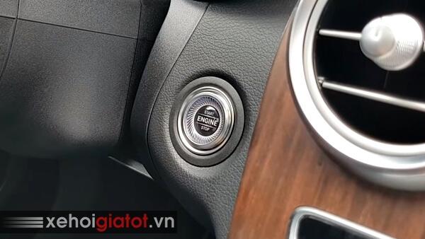 Nút bấm khởi động xe Mercedes C200 Exclusive