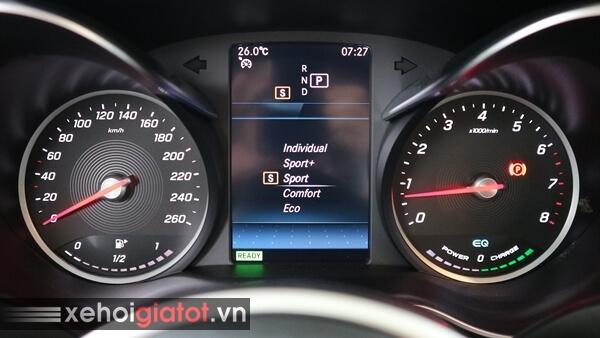 Chế độ lái xe Mercedes C200 Exclusive