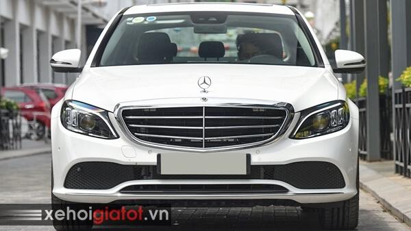 Phần đầu xe Mercedes C200 Exclusive