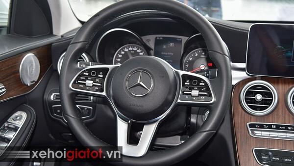 Vô lăng xe Mercedes C200 Exclusive