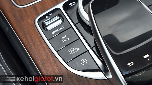 Chế độ giữ phanh tự động xe Mercedes C200 Exclusive