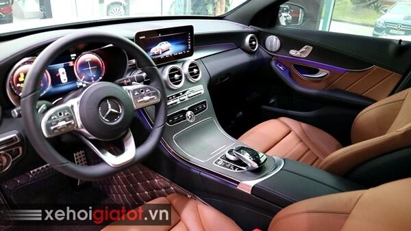 Đèn viền nội thất xe Mercedes C300 AMG